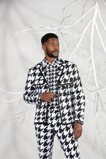 Trucker Houndstooth Summer Suit (3 piece)