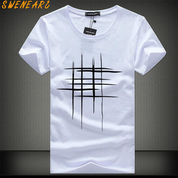 SWENEARO Summer Men T-Shirt - get-accessories