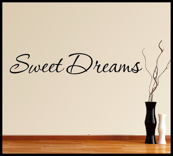 Sweet Dreams Wall Art Sticker - get-accessories
