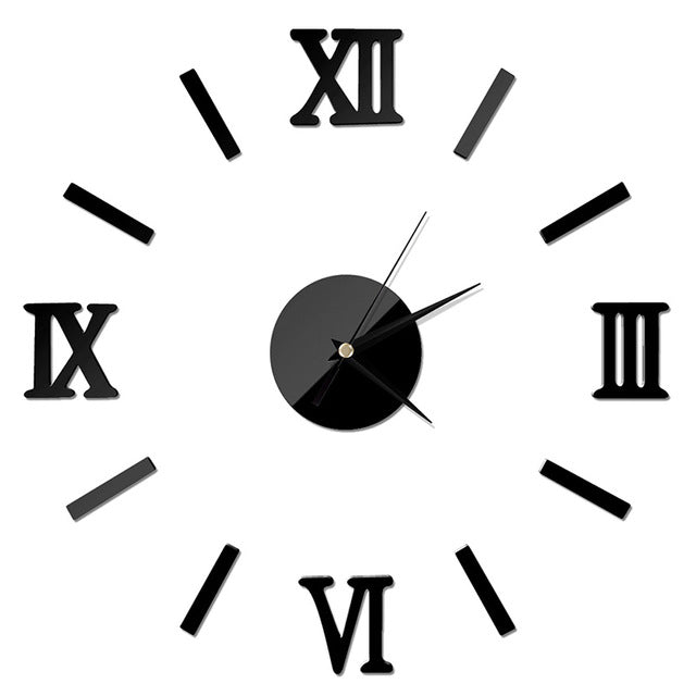 Modern Interior Roman Wall Clock - get-accessories