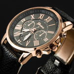 Geneva Women Watch Casual Leather PU - get-accessories
