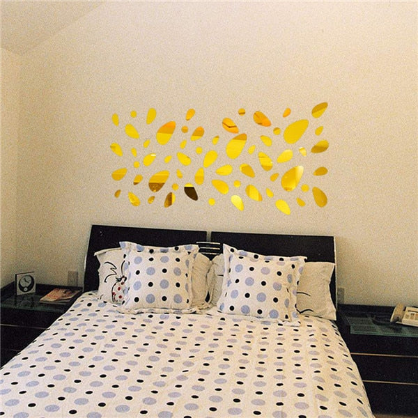 3D Mirror Removable Wall Sticker - get-accessories