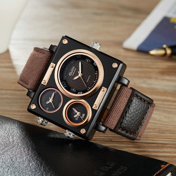 Quartz Wristwatches Fashion Military  BOX Water Resistance - get-accessories