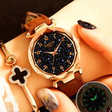 Luxury Starry Sky Watch For Women Fashion Ladies Quartz - get-accessories