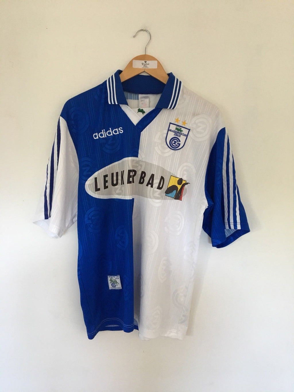 1997/98 Grasshoppers Home Shirt (M) 9/10