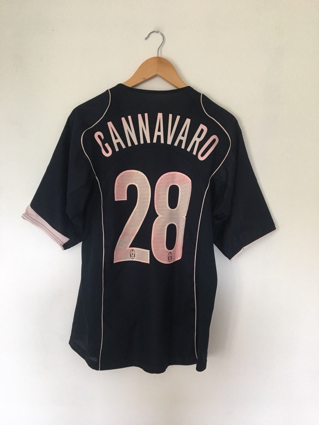 2004/05 Juventus Away Shirt Cannavaro #28 (L) 7/10