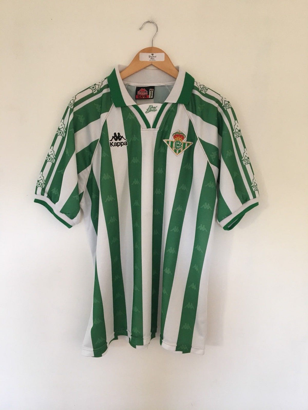 1995/97 Real Betis Home Shirt (XL) 9.5/10