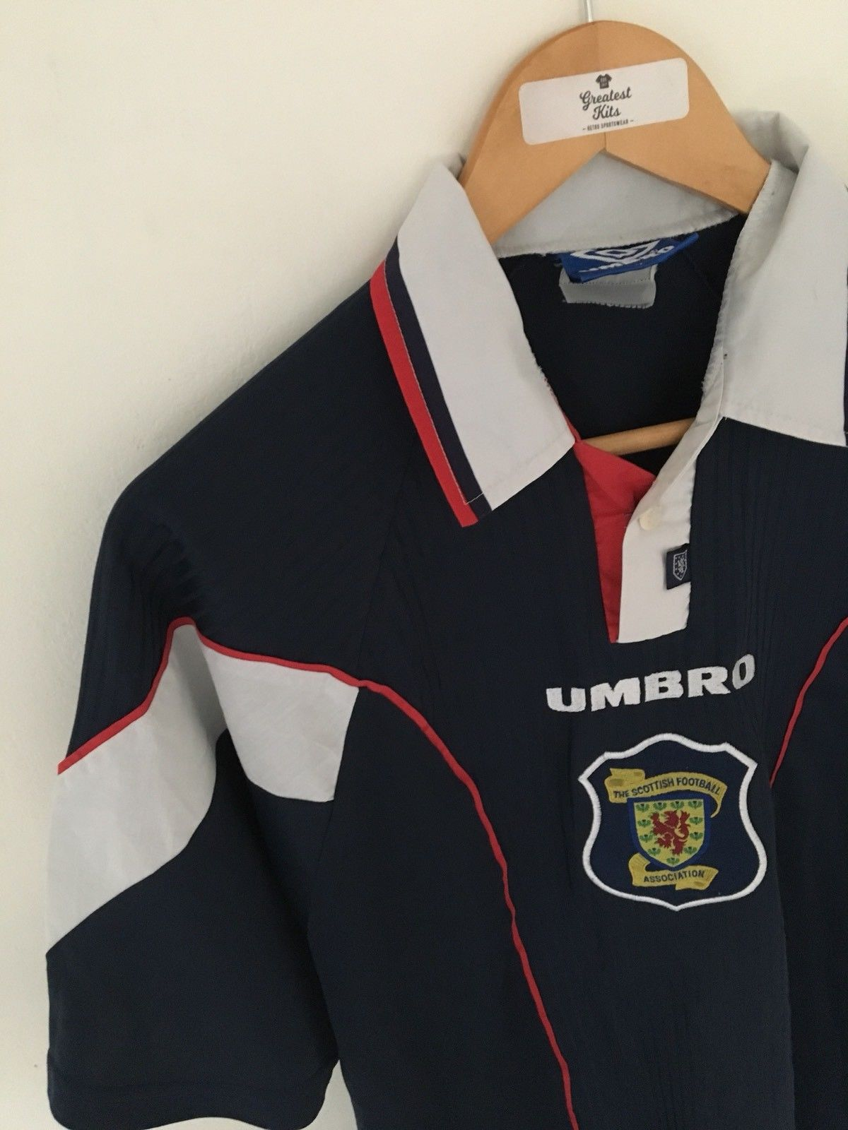 1996/98 Scotland Home Shirt (M)