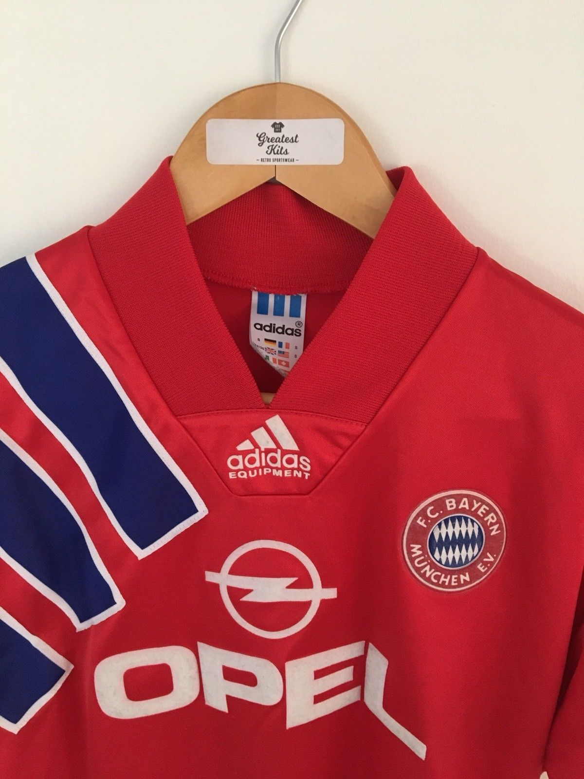 1991/93 Bayern Munich Home Shirt (S)