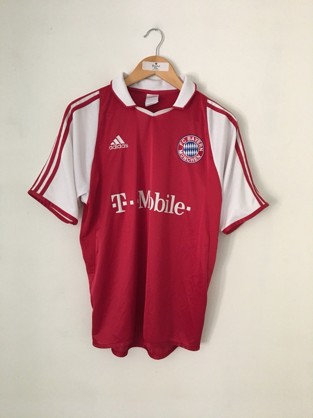 2003/04 Bayern Munich Home Shirt (S) 9/10