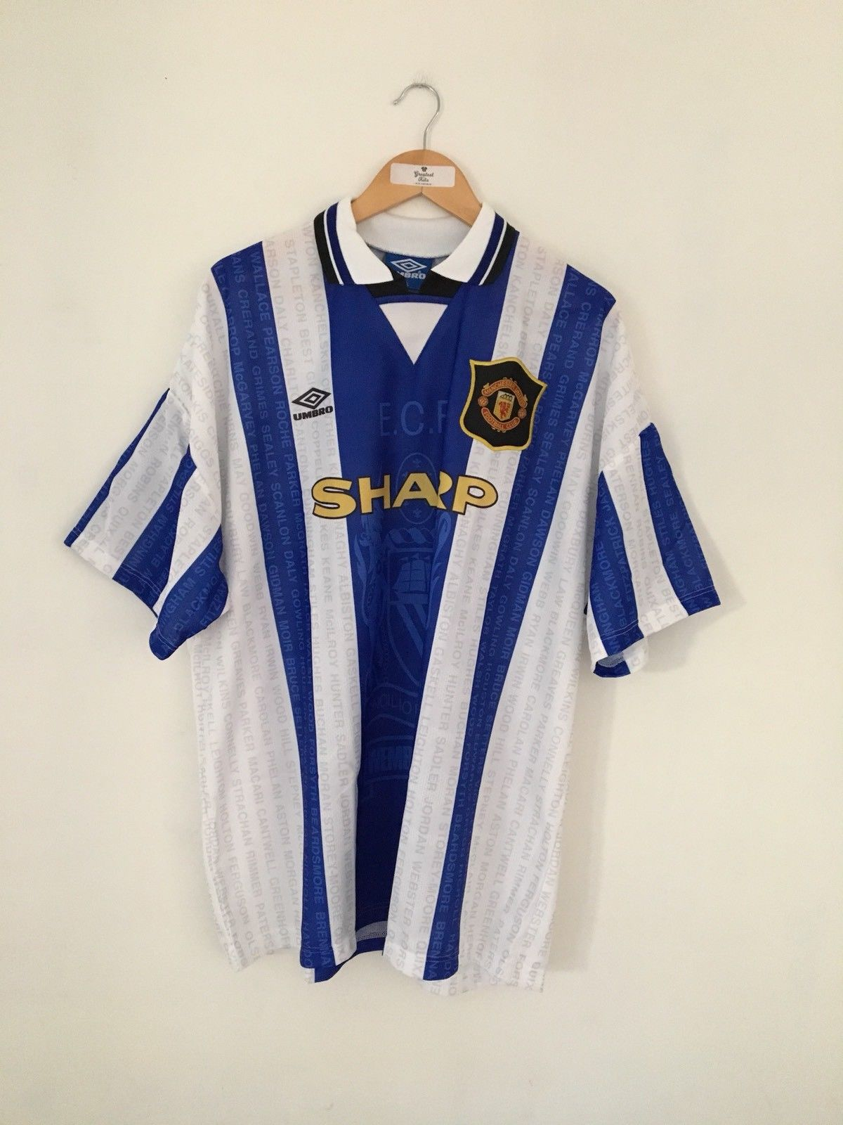 1994/96 Manchester United Third Shirt (XXL) 10/10