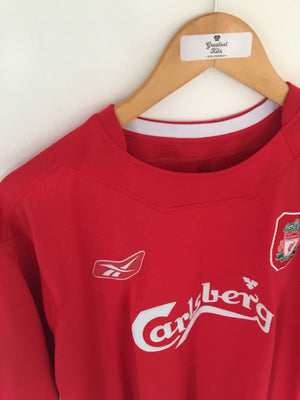 2004/06 Liverpool Home Shirt (XL) 7.5/10