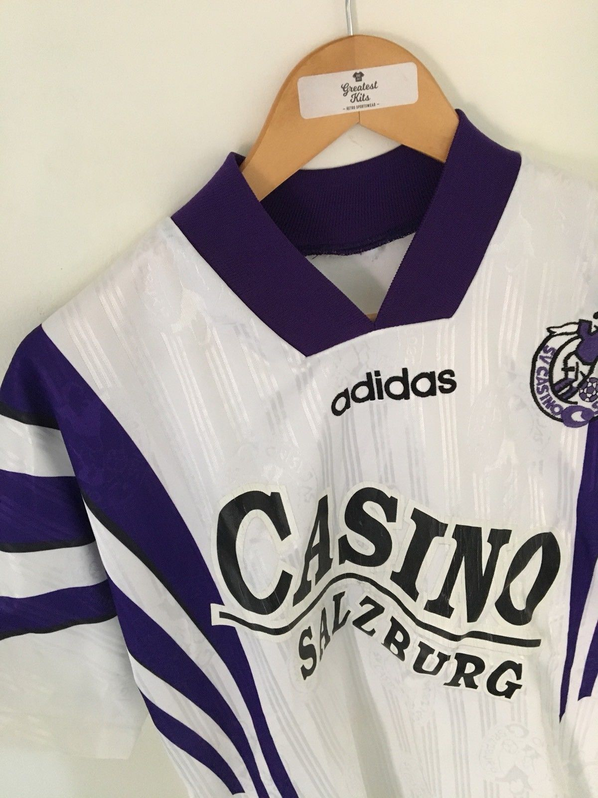 1996/97 Casino Salzburg Home Shirt (M) 8/10