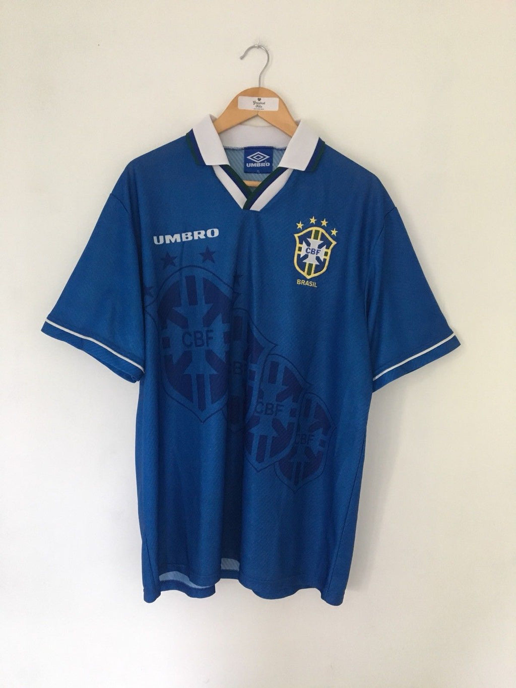 1994/97 Brazil Away Shirt (XL)