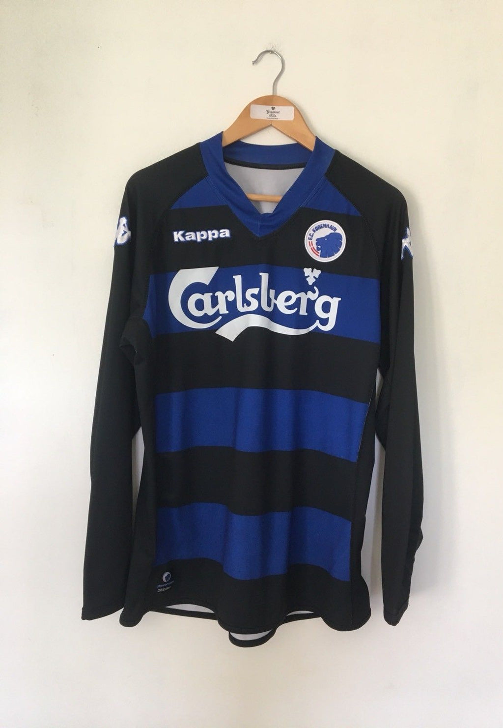 2010/11 FC Copenhagen Away L/S Shirt (XL) 9/10