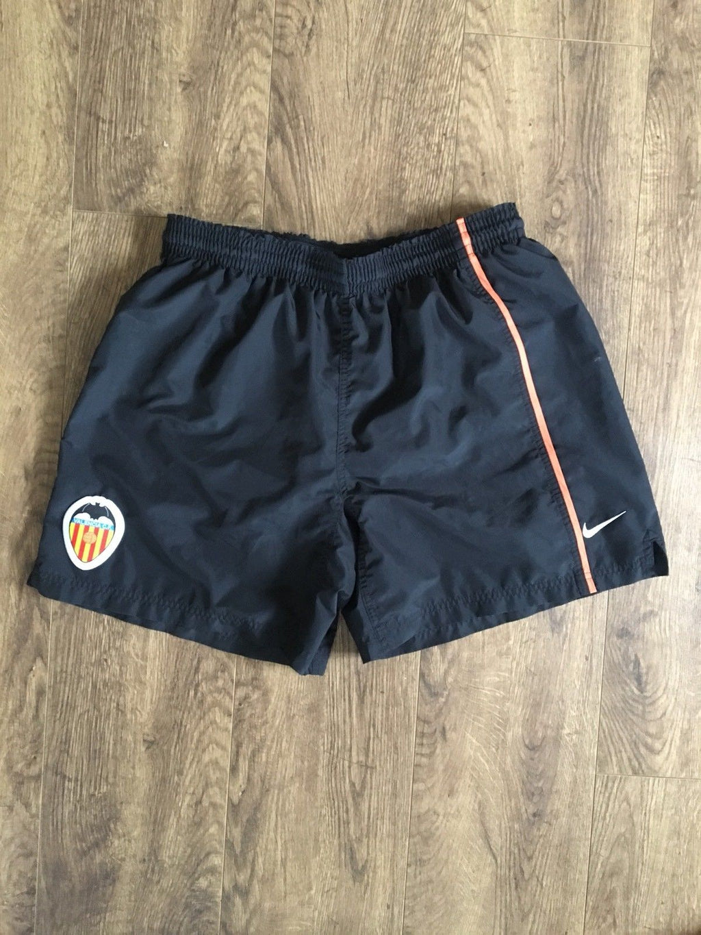 2002/03 Valencia Home Shorts (L)