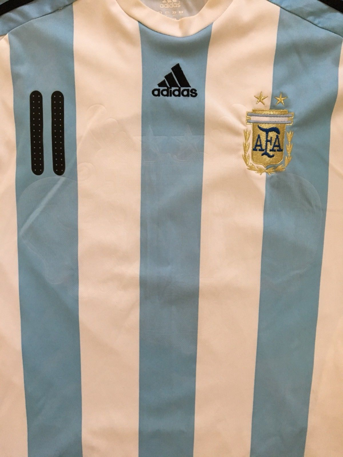 2007/09 Argentina Home Shirt Tevez #11 (XL) 8/10