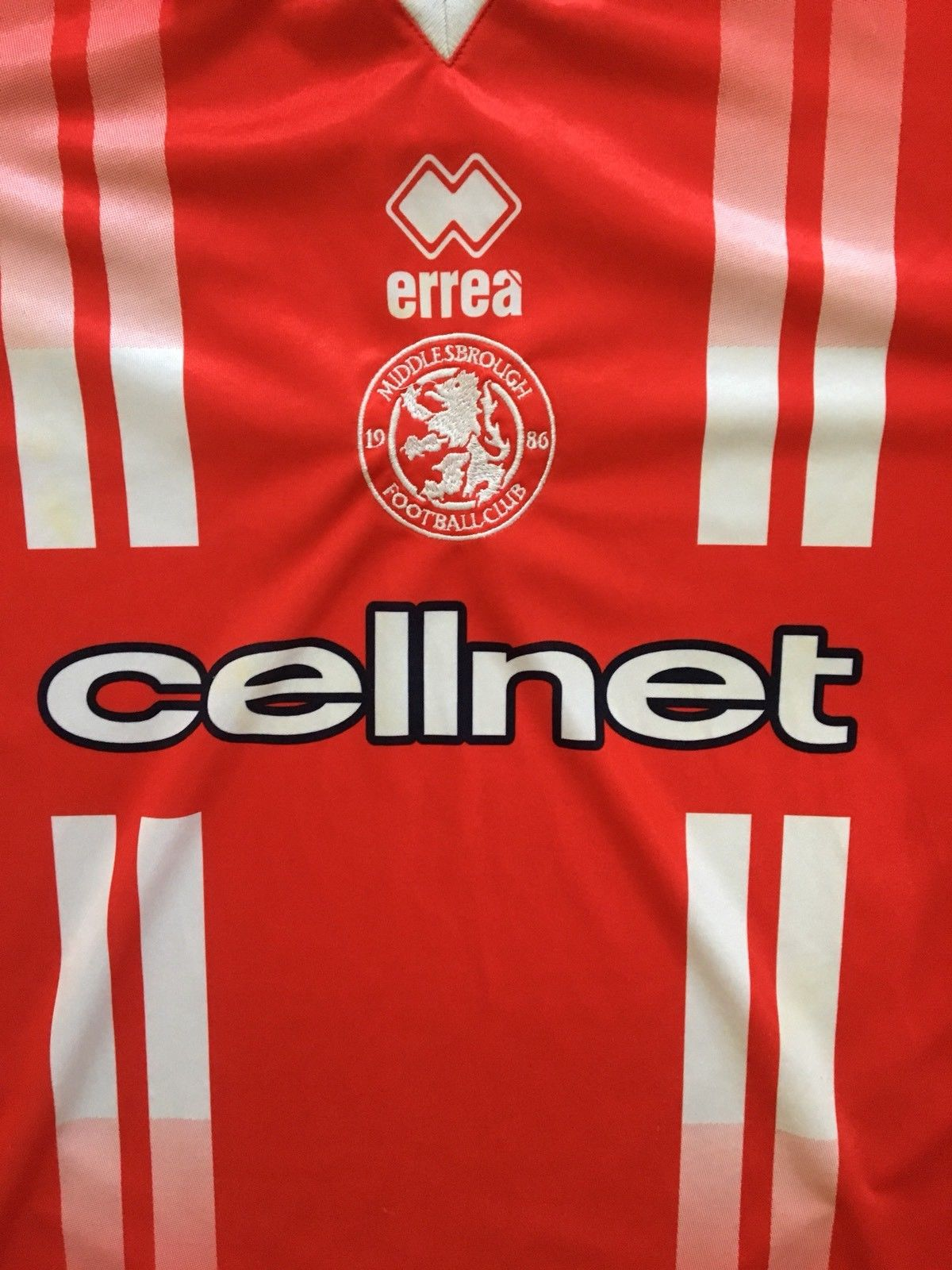 1998/99 Middlesbrough Home Shirt (L)