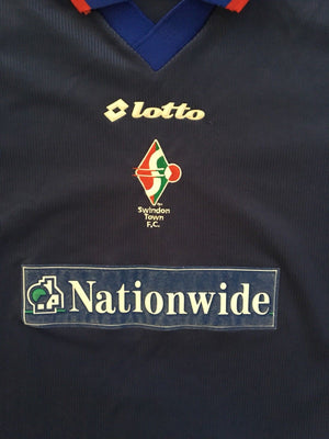 1999/00 Swindon Away Shirt (L)