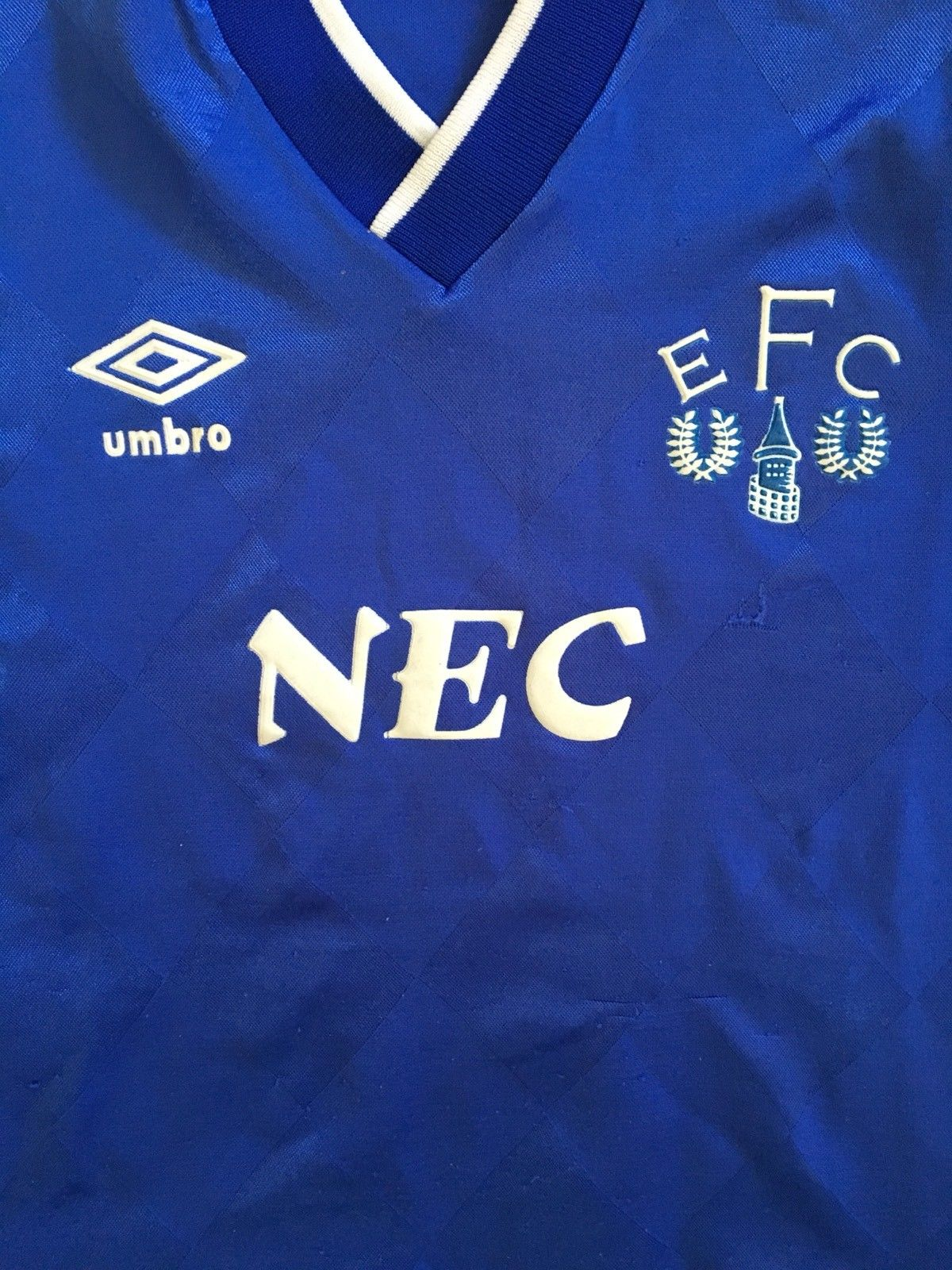 1986/89 Everton Home Shirt (Y)