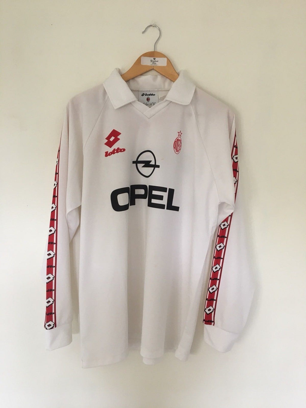 1995/96 AC Milan Training L/S Shirt (L) 6.5/10