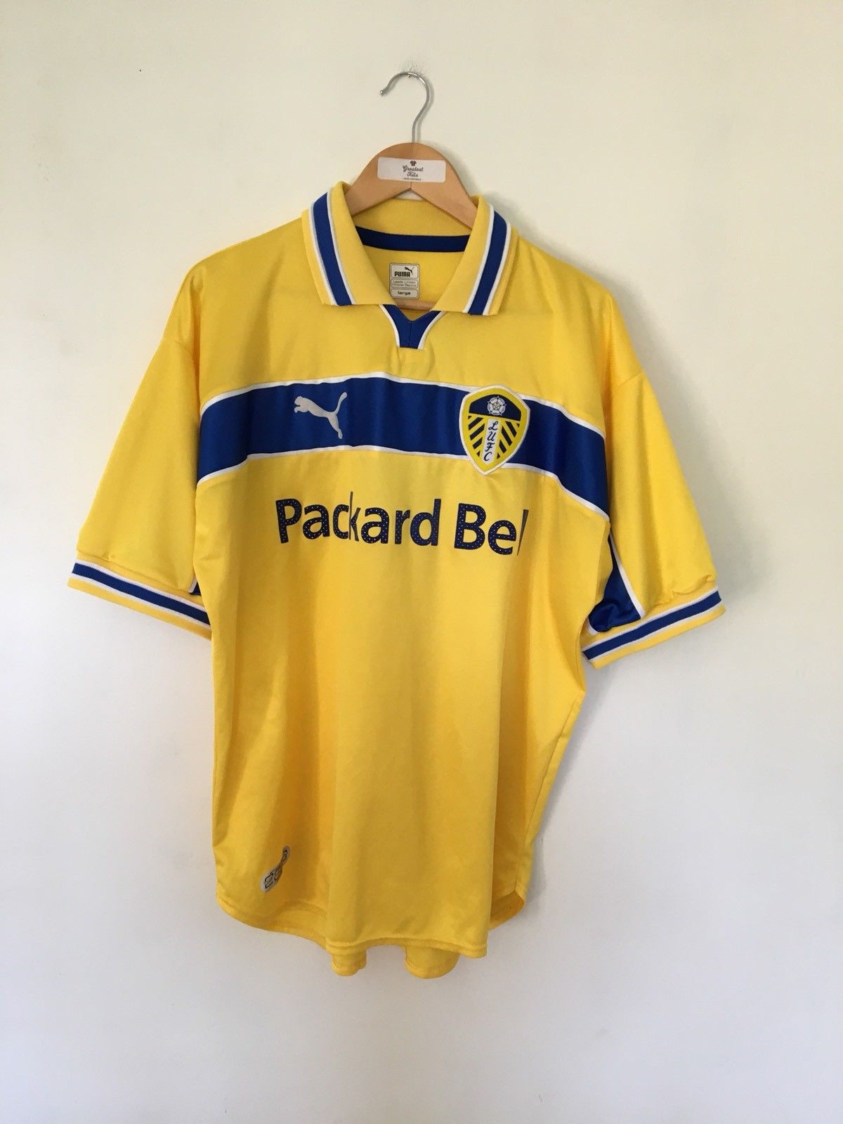 1999/00 Leeds United Third Shirt (L) 8.5/10
