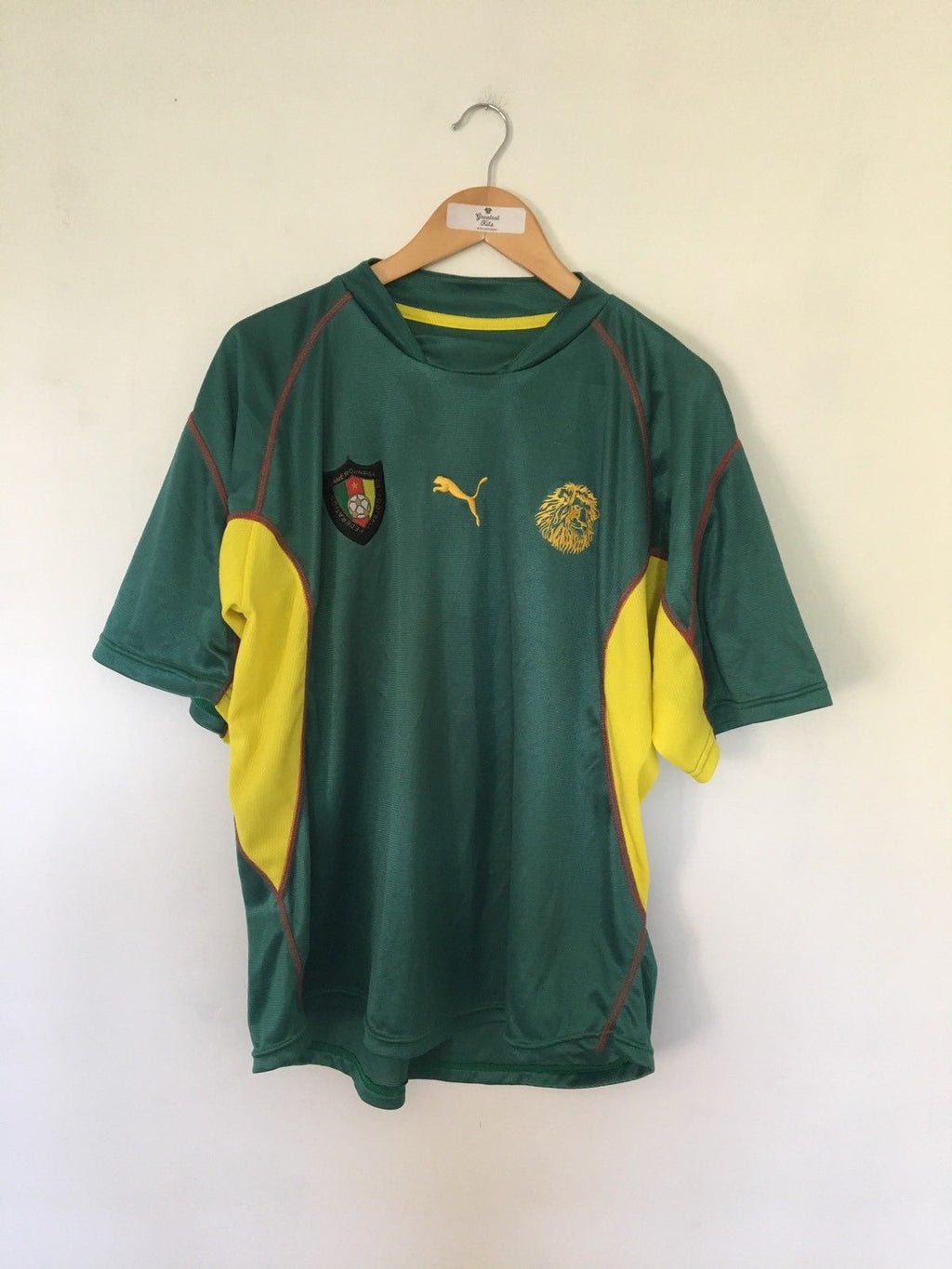 1999/01 Cameroon Home Shirt (L)