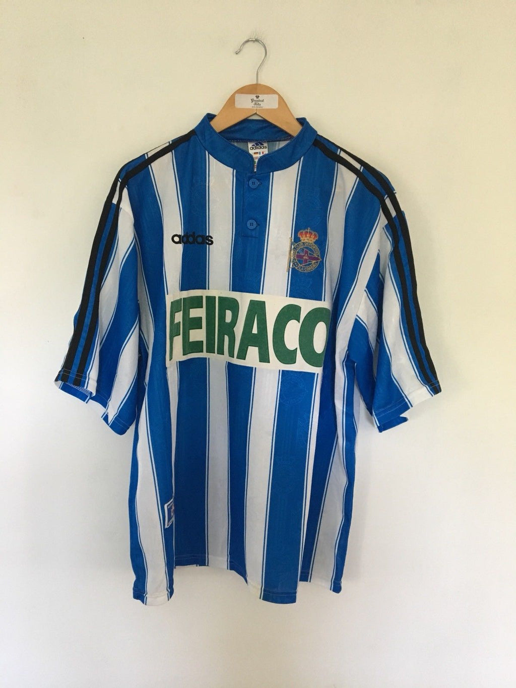 1996/98 Deportivo Home Shirt (XL)