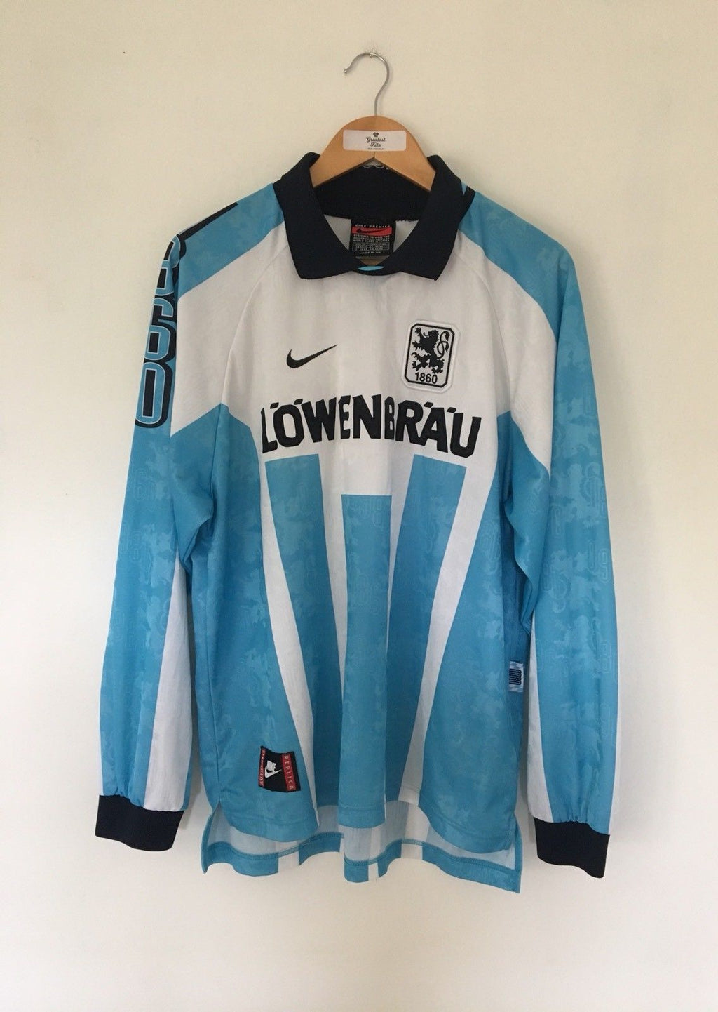 1996/97 1860 Munich Home L/S Shirt (XL) 9.5/10