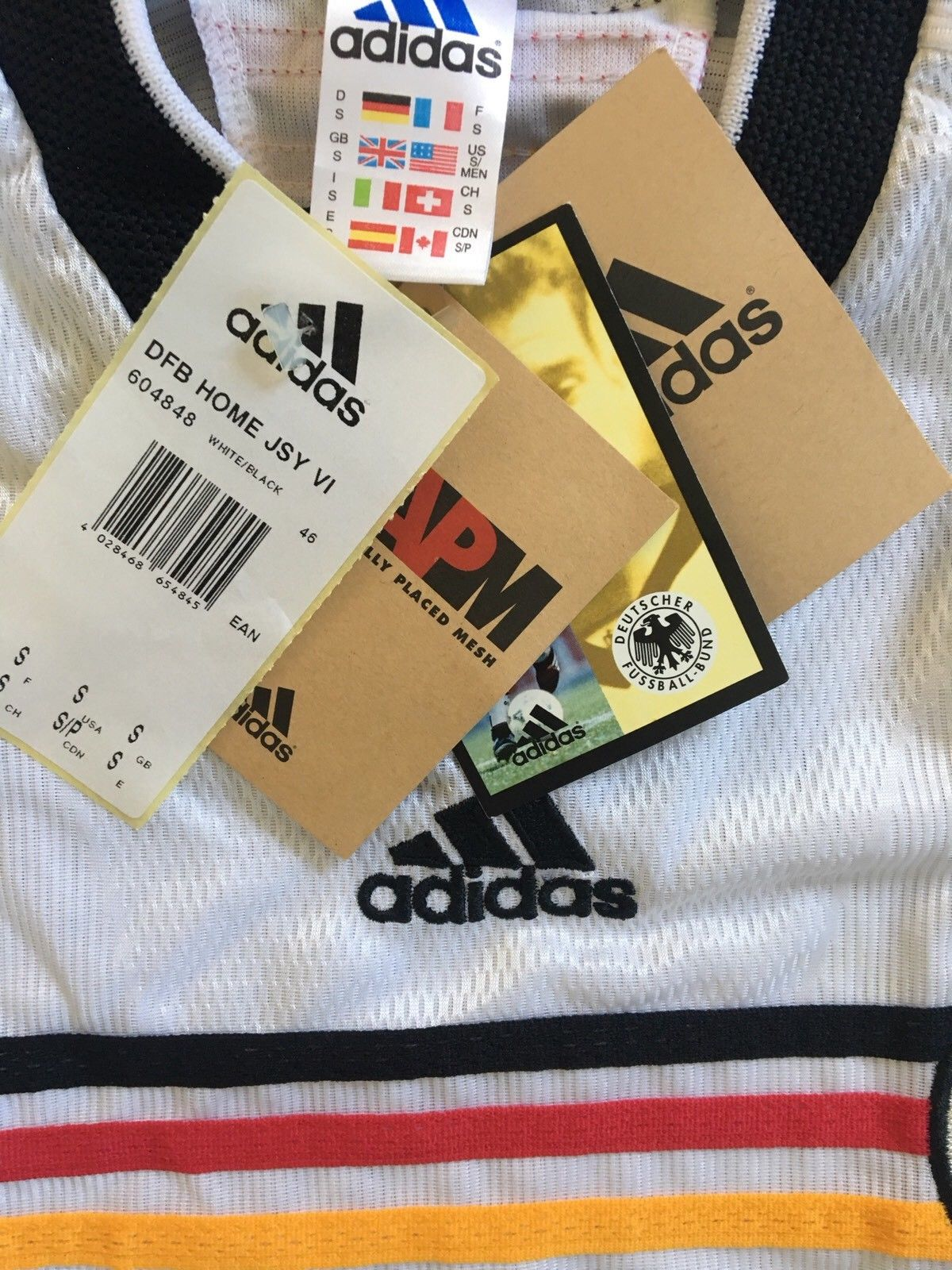 1998/00 Germany Home Shirt *w/Tags* (S)