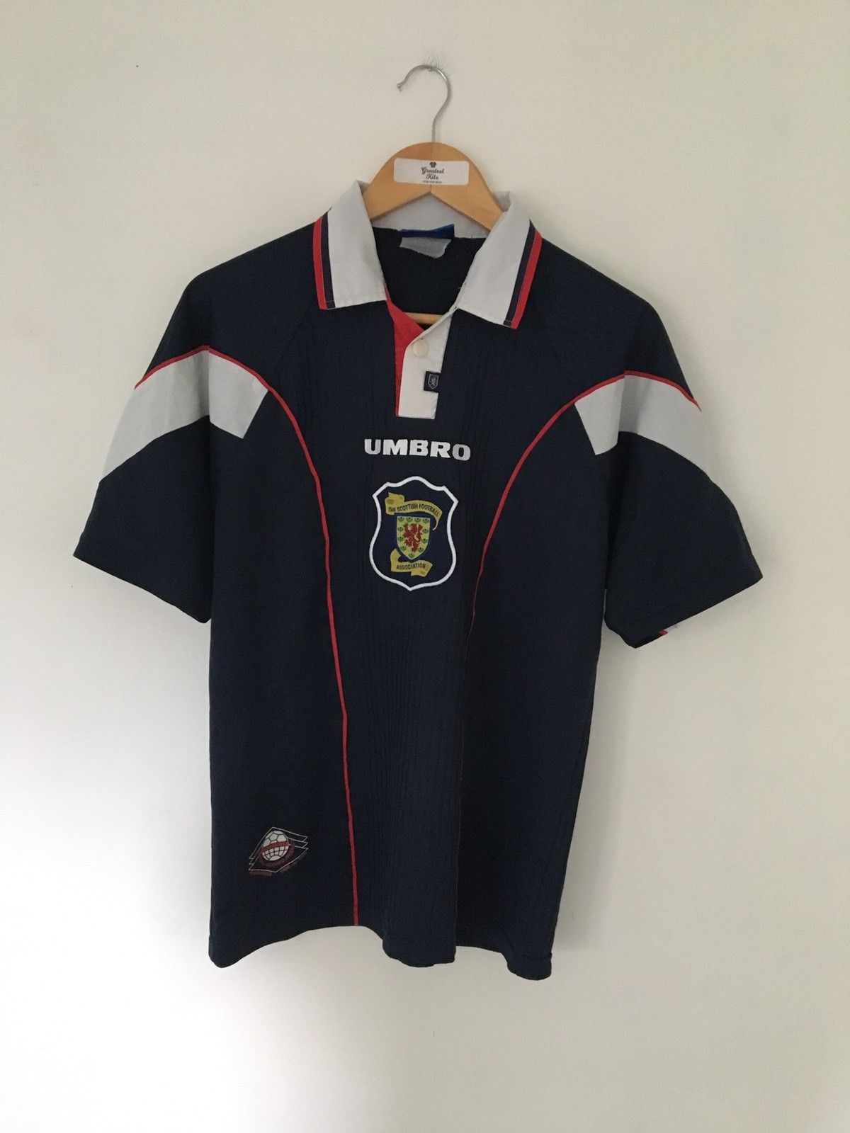 1996/98 Scotland Home Shirt (M) 8/10