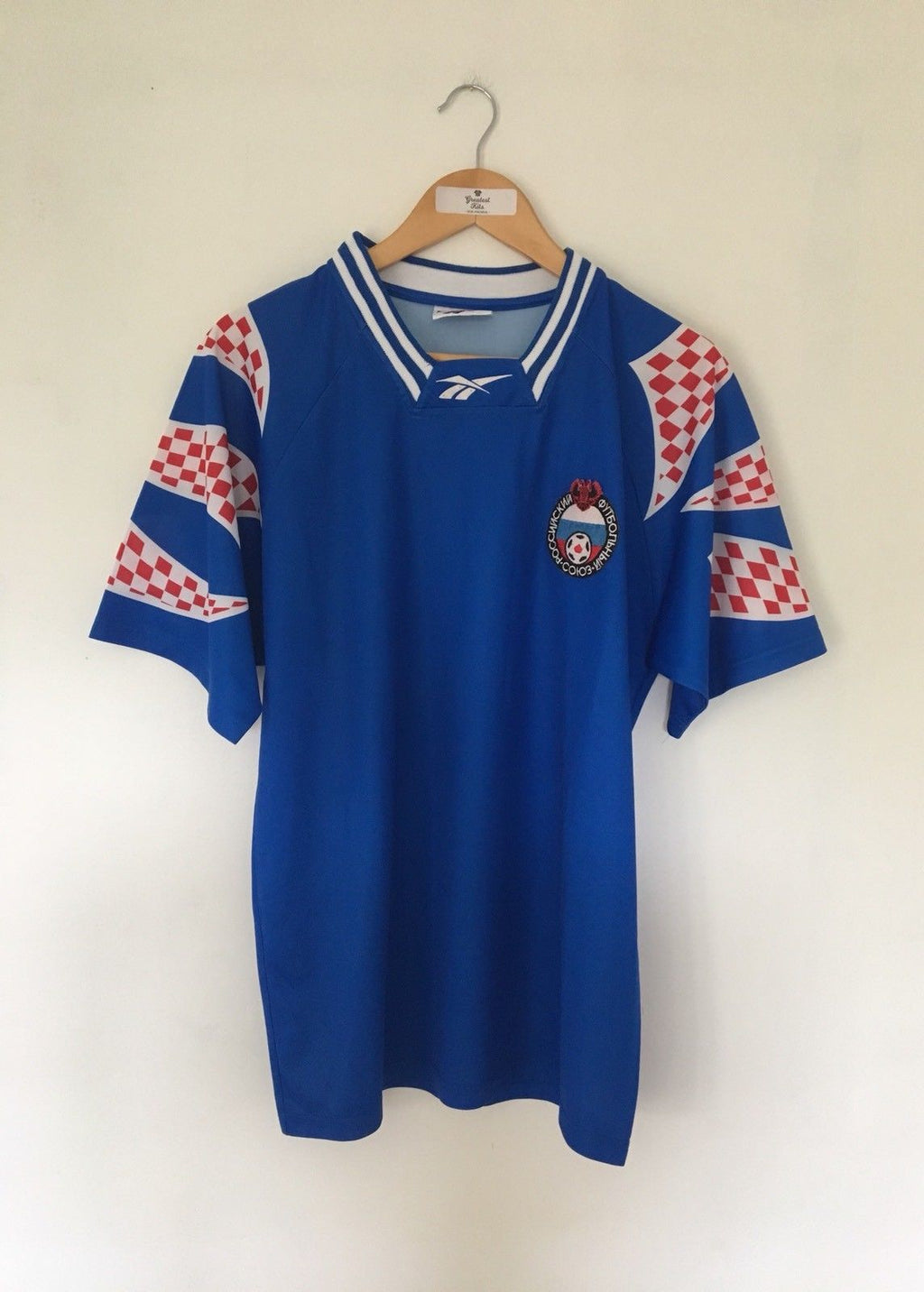 1994/96 Russia Away Shirt (L) 9/10