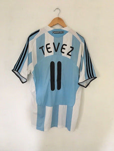 2007/09 Argentina Home Shirt Tevez #11 (XL)