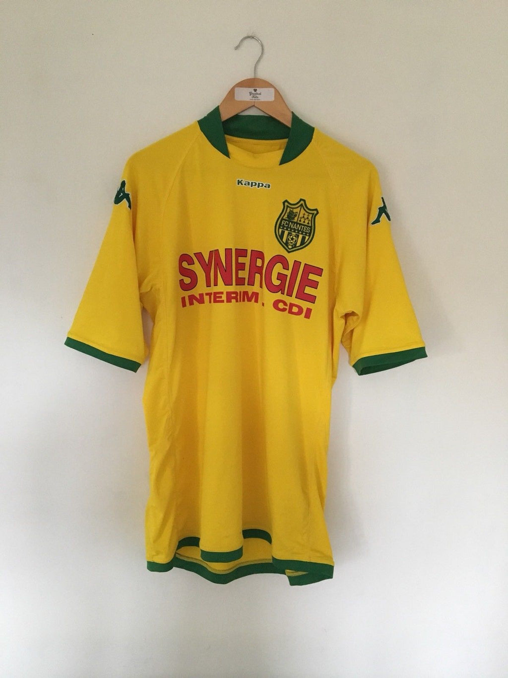 2008/09 Nantes Home Shirt (XL) 8/10