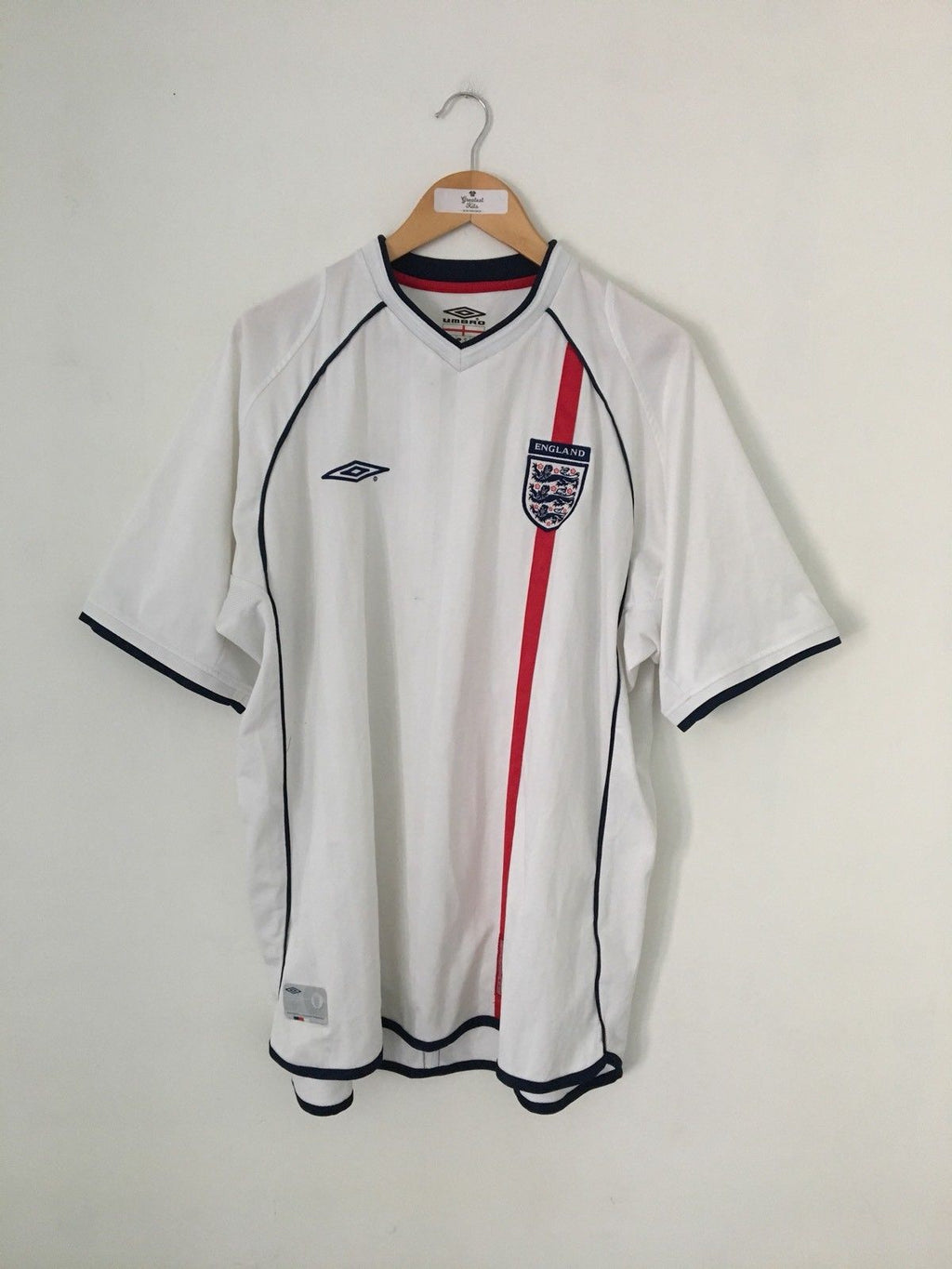 2001/03 England Home Shirt (XXL) 6/10