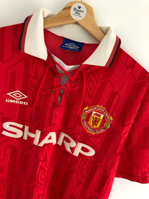 1992/94 Manchester United Home Shirt (M) 7.5/10