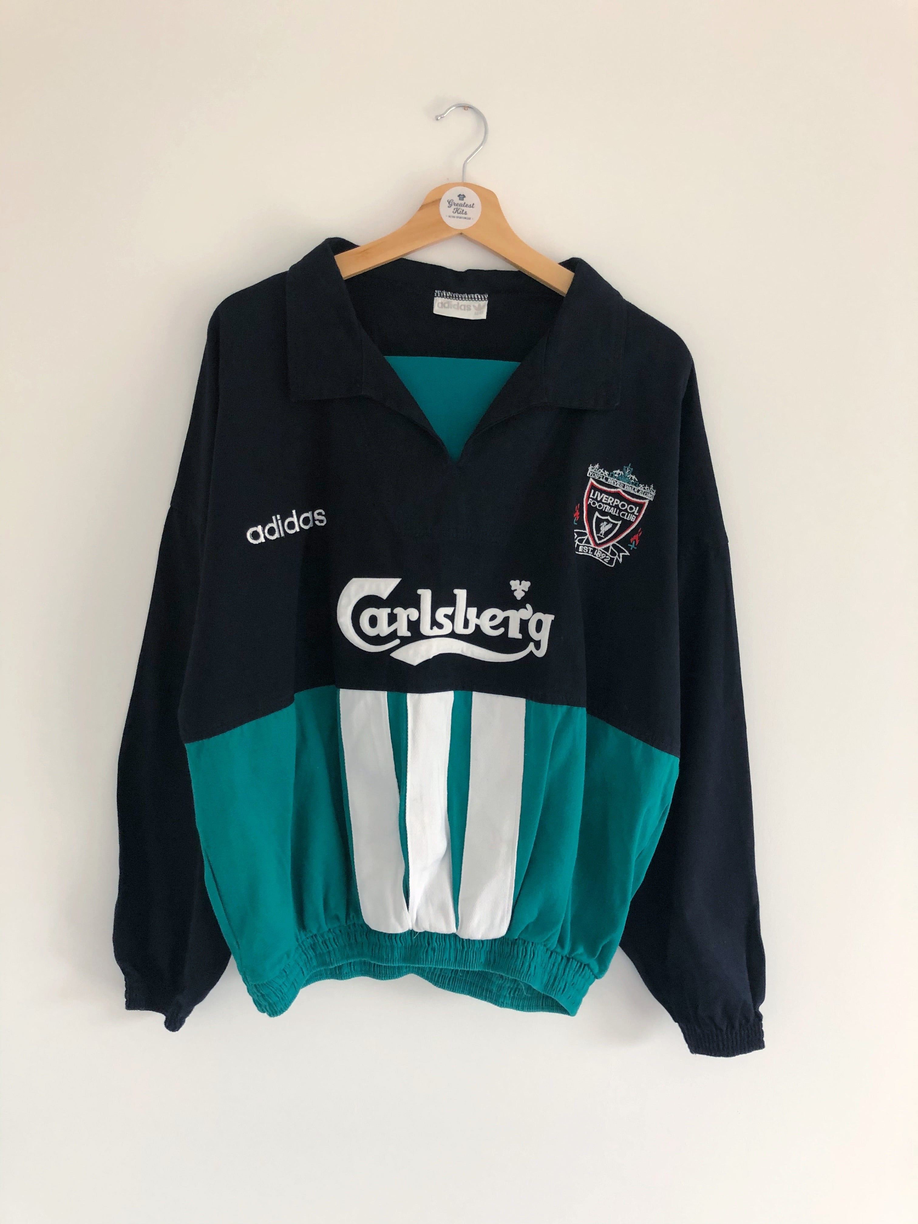 1995/96 Liverpool Drill Top (L/XL) 9.5/10