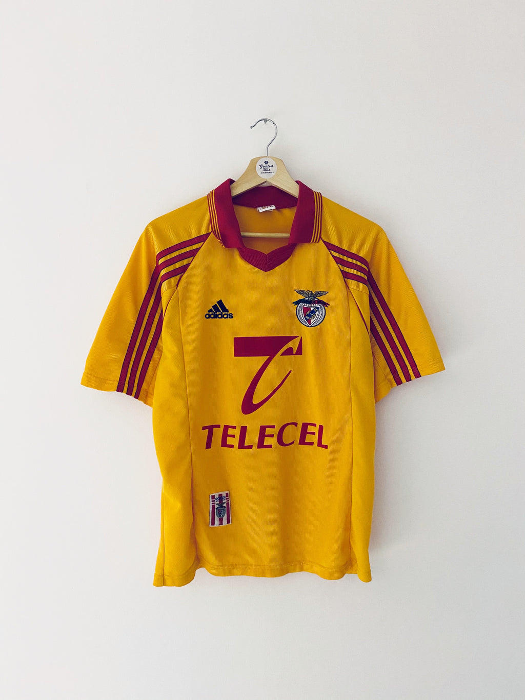 1998/99 Benfica Away Shirt (S) 8/10