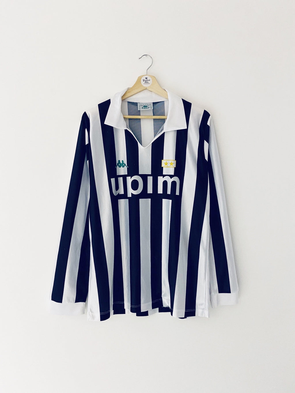 1990/91 Juventus Home L/S Shirt (XL) 7/10