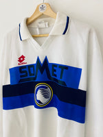 1994/95 Atalanta *Player Issue* Away L/S Shirt #2 (XL) 9/10