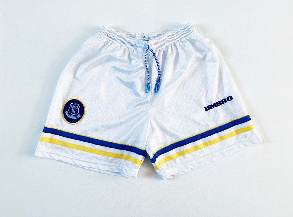 1997/99 Everton Home Shorts (M) 8.5/10