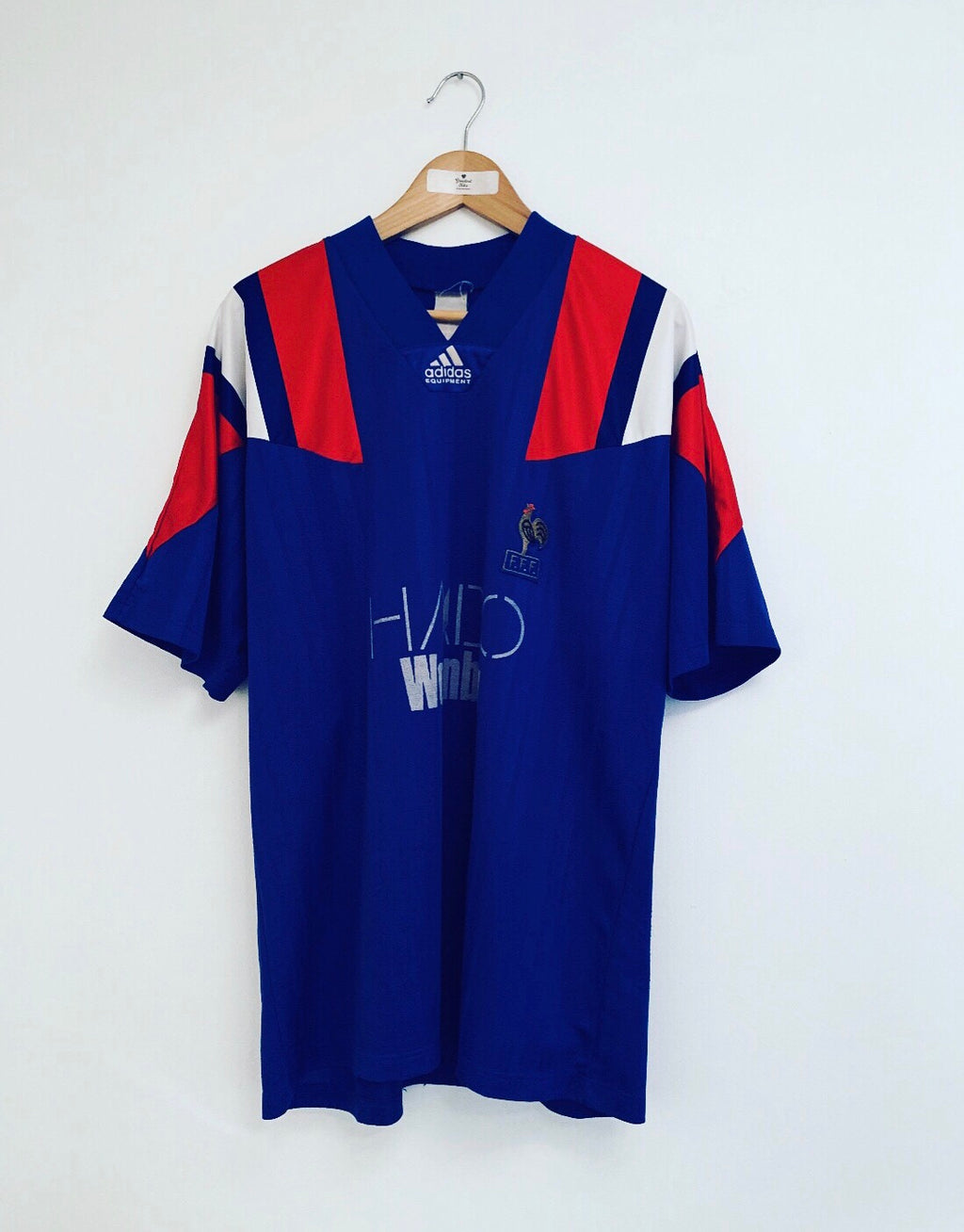 1992/94 France Home Shirt #3 (XL) 7.5/10