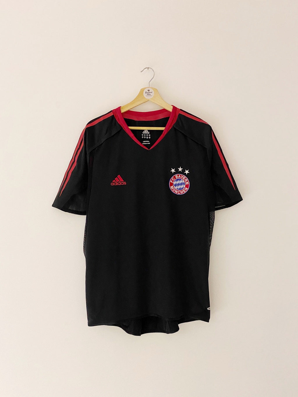 2004/05 Bayern Munich *Player Issue* CL Shirt (L) 9/10