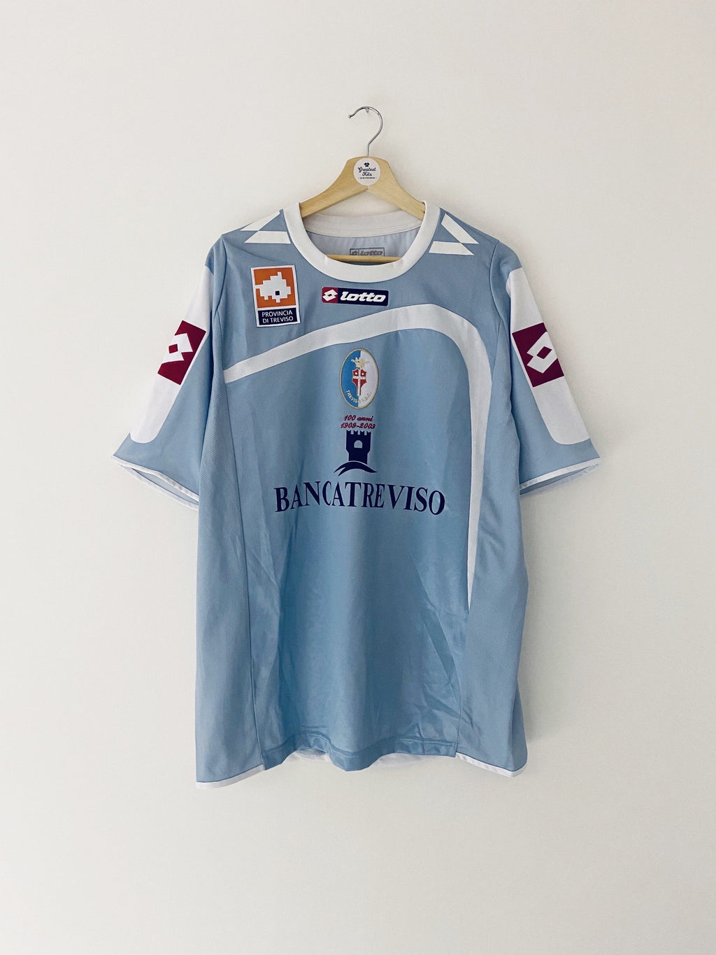 2008/09 Treviso Away Centenary Shirt (XL) 9/10
