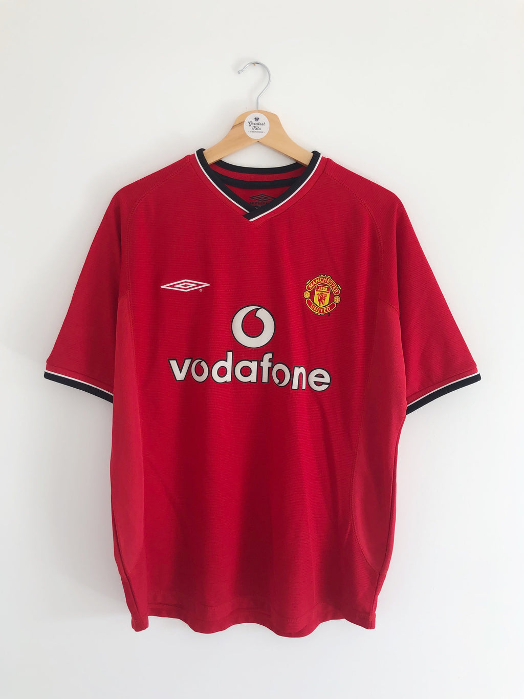 2000/02 Manchester United Home Shirt (M) 9/10