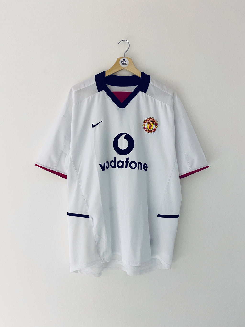 2002/03 Manchester United Away Shirt (XL) 9/10