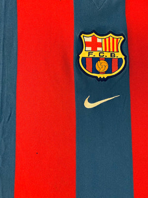 2001/02 Barcelona Home Shirt (XL) 7/10