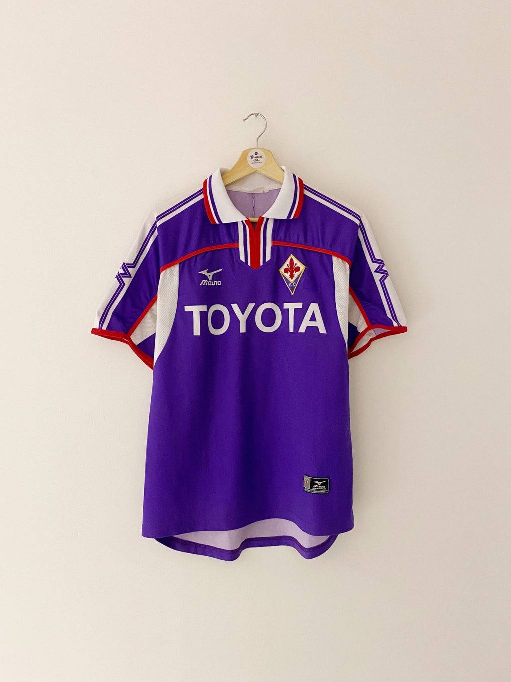 2001/02 Fiorentina Home Shirt (S) 6.5/10