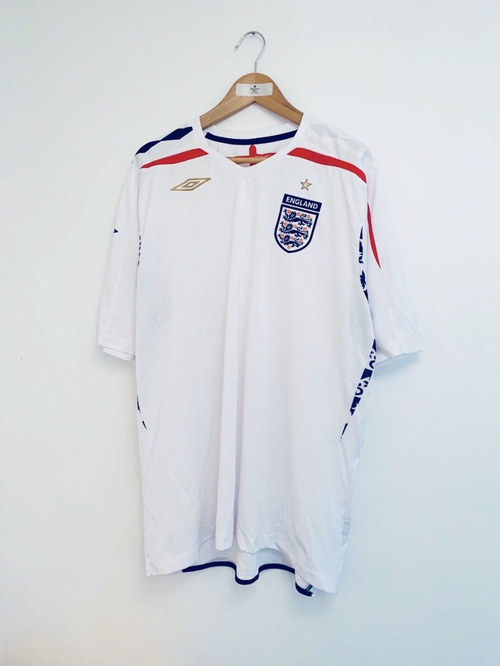2007/09 England Home Shirt (XXL) 9.5/10