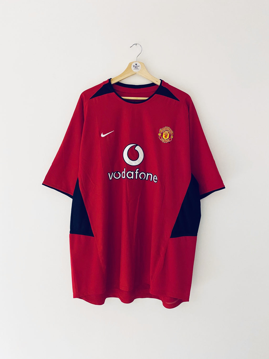 2002/04 Manchester United Home Shirt (XXL) 9/10